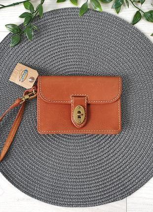 Фірмовий шкіряний гаманець fossil