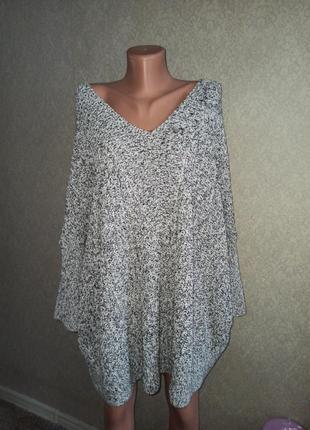 Свитер платье туника oversize