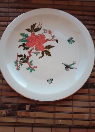 Коллекционная винтажная тарелка