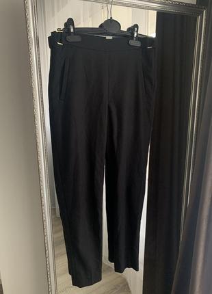Женские чёрные штани хс