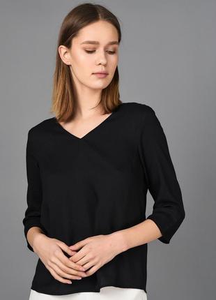 Чёрная женская блуза vero moda