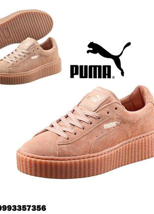 Женские базовые кроссовки пума риана жіноче взуття  жіночі кросівки puma fenty