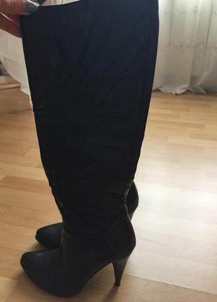 Шкіряні італійські чоботи мario muzi