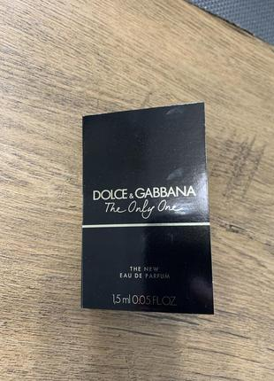 Пробник аромата the only one d&g