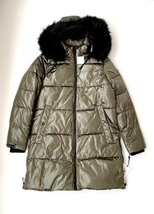 Жіноча куртка зимова dkny  женская куртка зимняя донна каран нью йорк оригінал