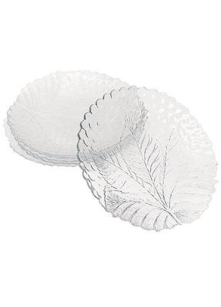 Набор стеклянных тарелок pasabahce