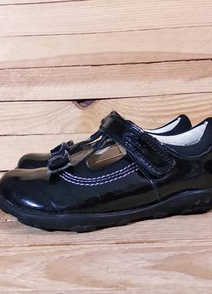 Clarks туфли мигалки натуральная кожа