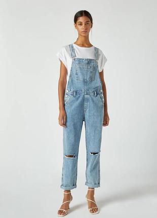 Женский джинсовый комбинезон 💖