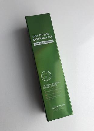 Маска для кожи головы some by mi cica peptide anti hair loss с пептидами и центелой