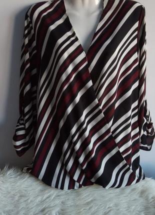 Блуза в запах, от f&f, р. 16/xxl