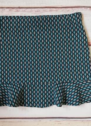 Мини-юбка, короткая юбочка pull&bear m-l размер