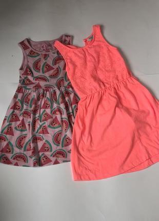 Набор платьев 4-5 лет