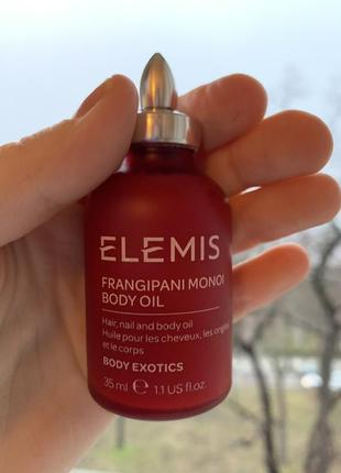 Масло elemis frangipani monoi body oil