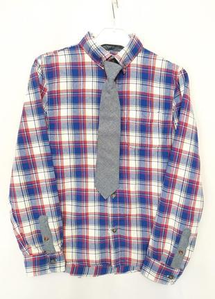 Клетчатая рубашка для мальчика