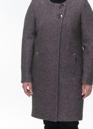 Пальто по классике варенная шерсть