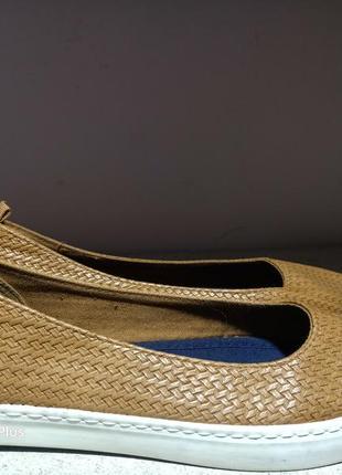 Комфортные кожаные балетки, туфли  next 392 фото