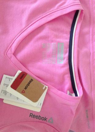 Женская футболка reebok workout tshirt womens pink