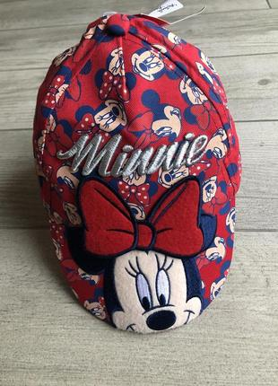 Кепка с minnie mouse