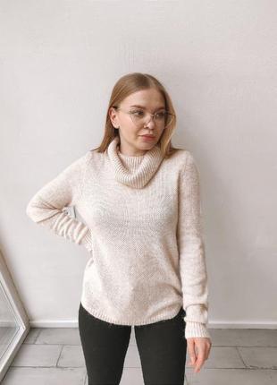 Нюдовый свитер marks&spencer