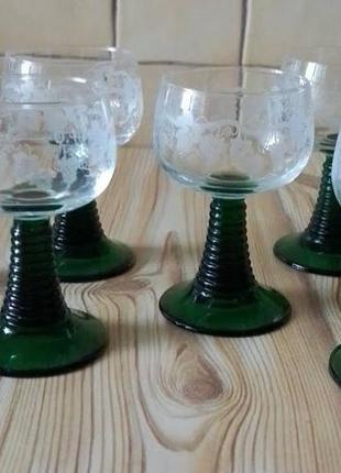 Богемские бокалы
