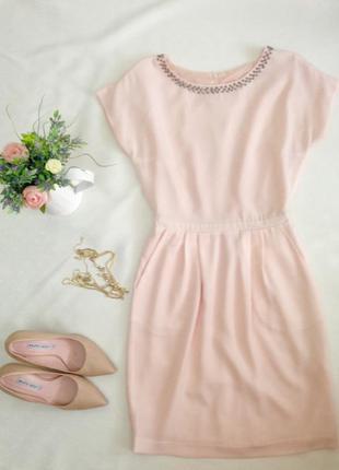 Ніжна пудрова сукня reserved