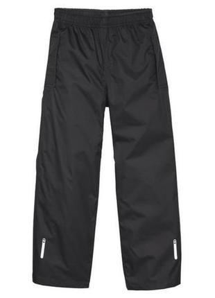 Водонепроницаемые брюки дождевики crivit размер 146-164 cм