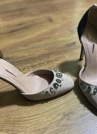 Лодочки туфли next красивые