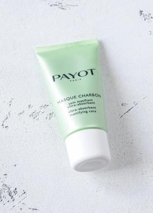 Ультрапоглощающая угольная маска payot pâte grise