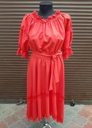 Плаття, плаття довге, плаття червоне, красное платье, нарядне плаття