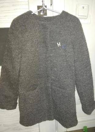 Пальто букле pepperts, р. 9-10 лет, рост 140 см