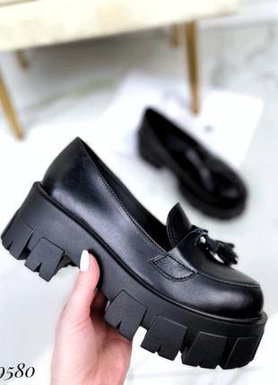 Туфлі жіночі лофери vega   туфли женские лоферы vega /29580/
