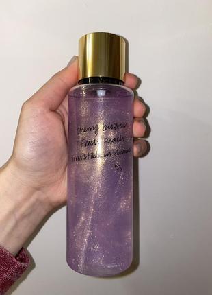 Парфюмированная вода спрей духи мист victoria's secret love spell shimmer2 фото