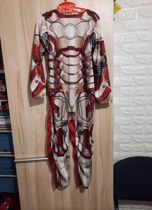 Карнавальный костюм, комбинезон iron man 3, железный человек