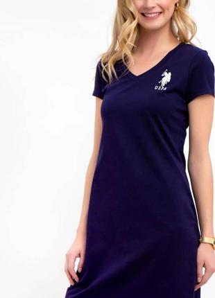 Комфортное стильное платье u.s.polo assn оригинал , в размер м,l (38,40)