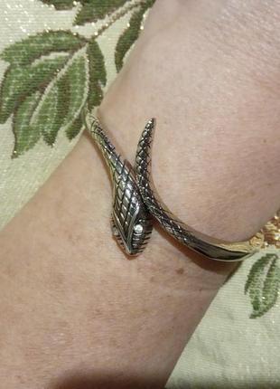 Браслет на руку  змея