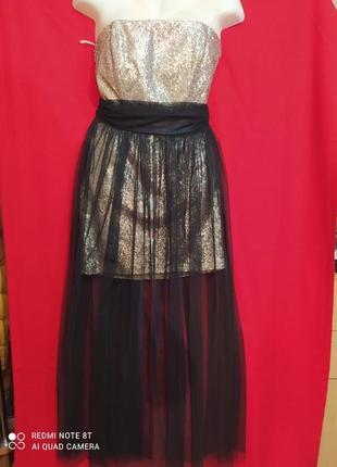 Платье 2в1  кoton .  zara mango h&m