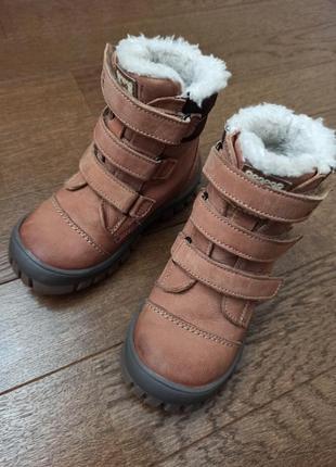 Ботинки кожаные lasocki 24 размер 16 см