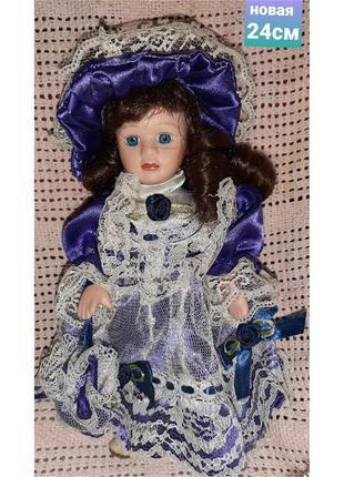 Коллекционная винтажная немецкая кукла 24см в идеальном состоянии