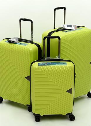 "Французский  чемодан из полипропилена ""airtex ""230 limon green"