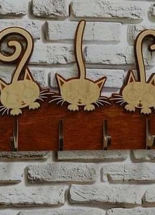 """Ключниця """"котики"""""""