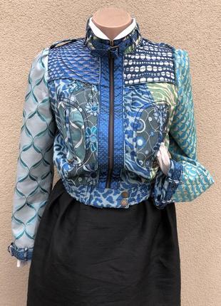Жаккард куртка,ветровка,бомбер,премиум бренд,этно бохо стиль