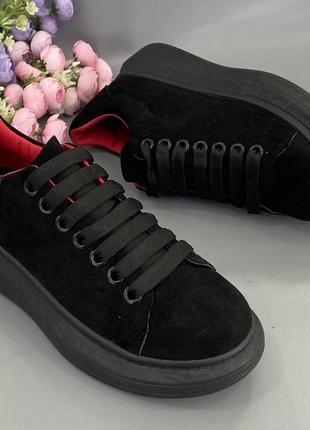 Замшеві кросівки