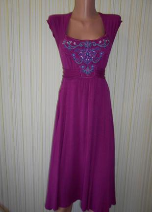 #платье из вискозы с вышивкой#atmosphere#