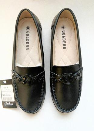 Кожаные туфли мокасины тм golderr (36-41 р.р.)