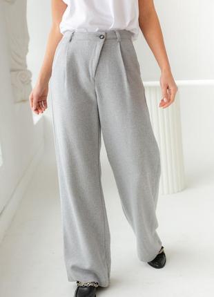 Ефектні широкі штани , брюки висока посадка турция