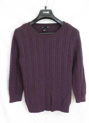 Свитер/ свитер с косичками h&m