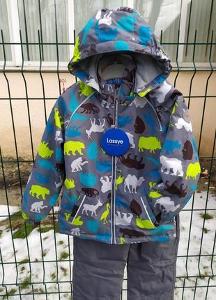 Демисезонный утепленный термо костюм куртка + брюки. 80-1161 фото
