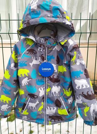Демисезонный утепленный термо костюм куртка + брюки. 80-1163 фото