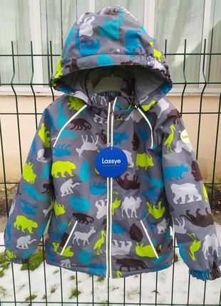 Демисезонный утепленный термо костюм куртка + брюки. 80-1165 фото