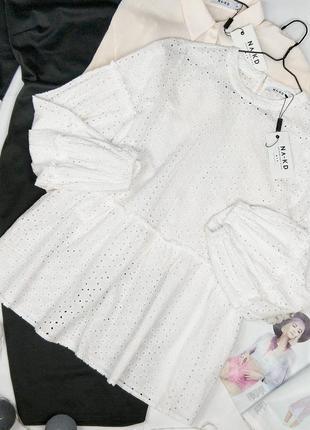 Новая блуза из прошвы na-kd